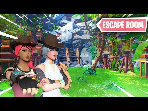 *ESCAPE ROOM AVENTURA DE INDIANA JONES* FORTNITE PARKOUR