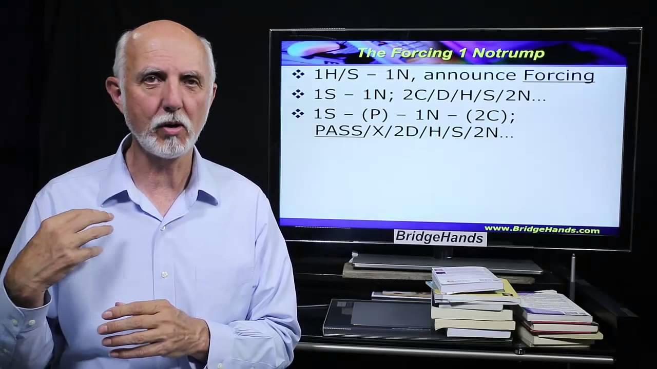 Bridgehands Advanced Lesson 10 2 1 Bridge Bidding System