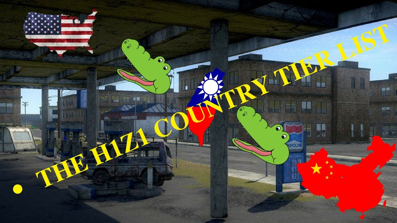yEEs and the country tier list | H1Z1: King of the Kill | Funny moments