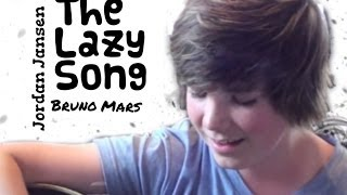 "Bruno Mars ""The Lazy Song"" - acoustic guitar cover by Jordan Jansen"
