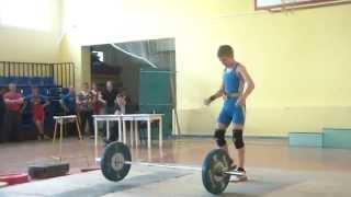 Тяжёлая атлетика Макар Чуба, вк 46 Толчок 60 кг