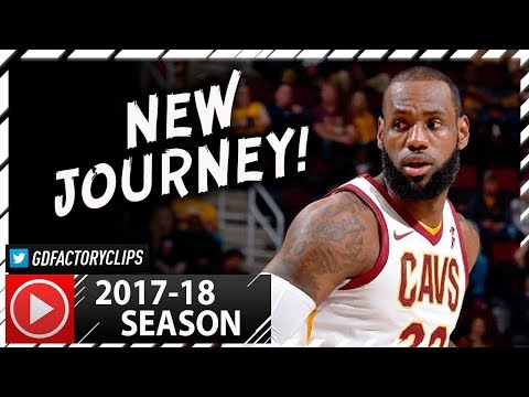 LeBron James Full PS Highlights vs Bulls (2017.10.10) - 17 Pts, 5 Reb, HE IS BACK!