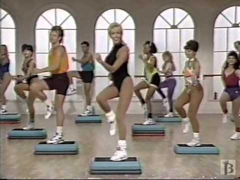 Jane Fonda's Step Aerobic Workout Commercial 1992