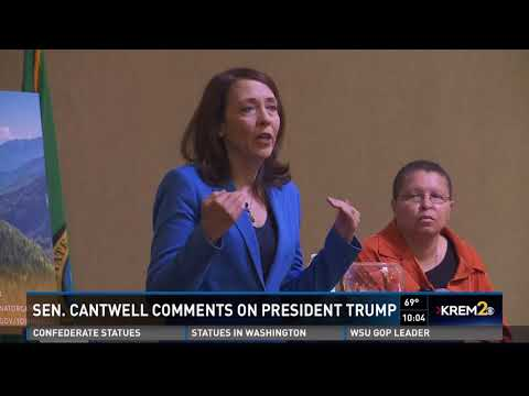 Senator Maria Cantwell holds town hall at Gonzaga