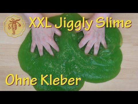 Slime: XXL Jiggly-Slime ohne Kleber