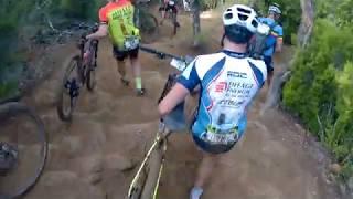 Roc dazur 2018 descente du fournel Enduro MTB VTT rider v xc rider OLFI roc azur roc d'azur