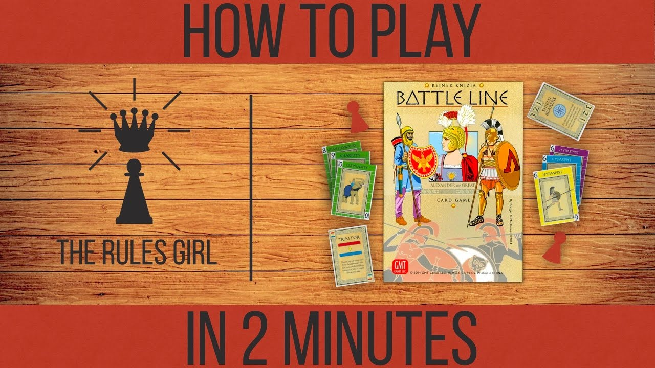 Download How to Play Battle Line in 2 Minutes - The Rules Girl