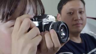 사진학개론 nikon fm2 manual #2 초보자를 위한 수동카메라, 필름카메라 입문