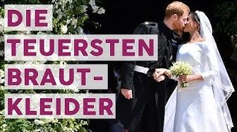 Wow! Das sind die Top 6 der teuersten Promi-Brautkleider! 👰 | STARS