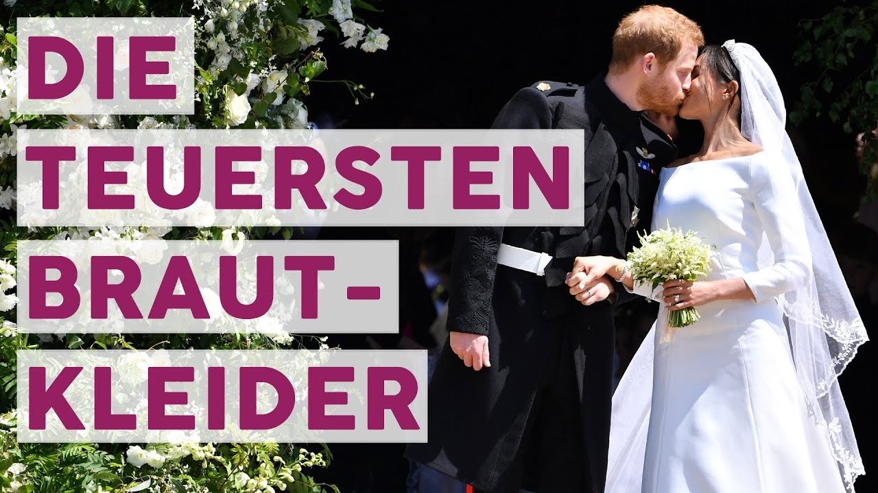 Wow! Das sind die Top 6 der teuersten Promi-Brautkleider! 👰 | STARS ...