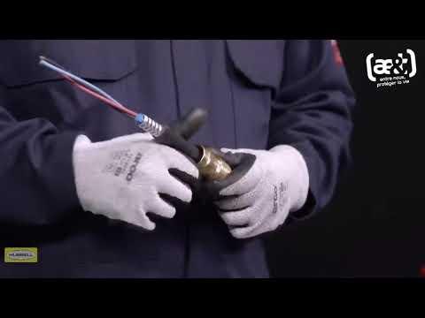 711 | Guide d'installation presse étoupe ATEX Hawke International | ae&t