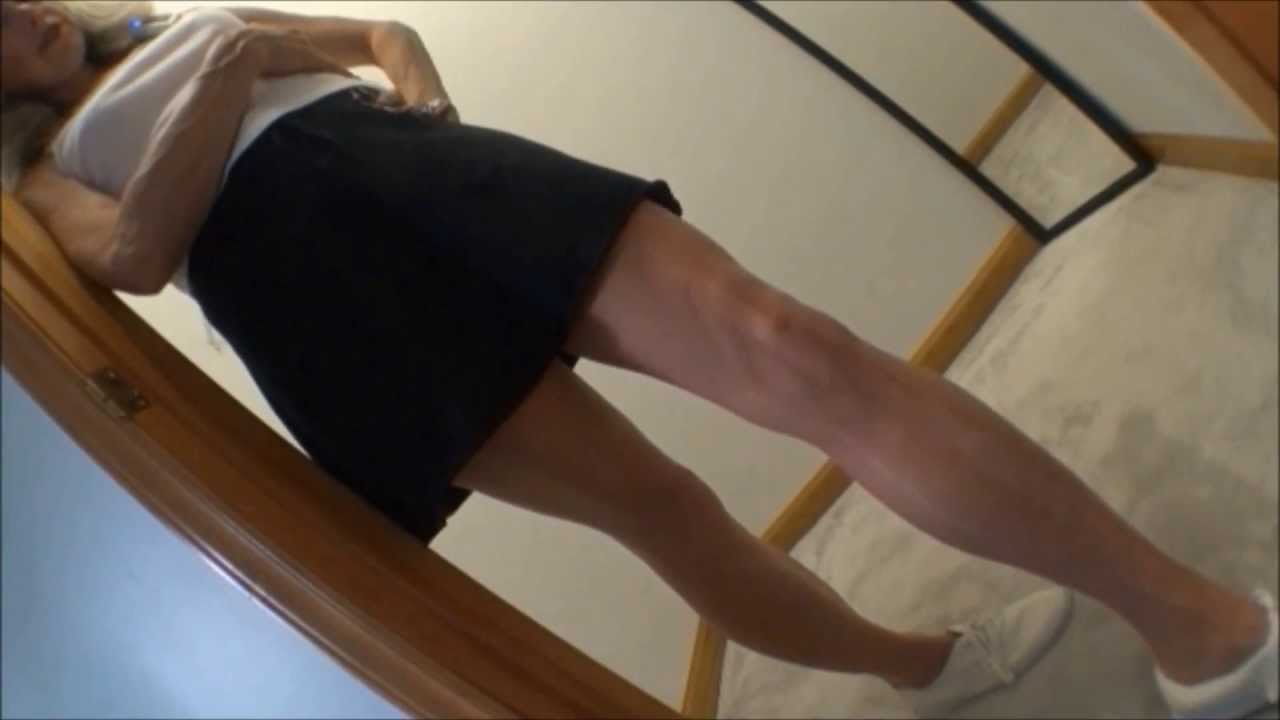 Pantyhose Keds Antics Mature Legs Feet Tease