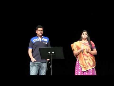 AZ Tamil sangam 2014 Diwali singing performance.