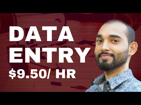 Online Data Entry Work - Best Tutorial For Beginners - How to Do Data Entry Jobs