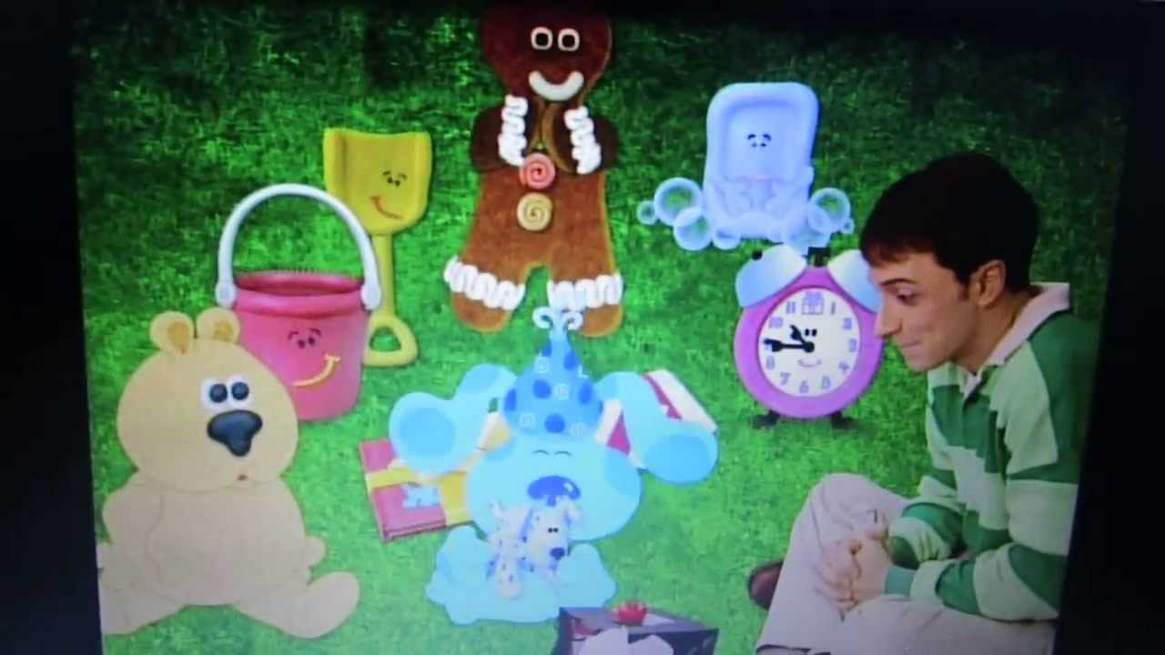 Blues Clues: Birthday Song Video - YouTube