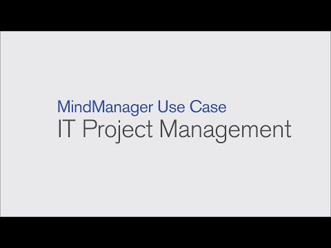 Mindmanager Use Case It Project Management