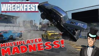 Wreckfest Next Car Game - MULTIPLAYER MADNESS - Early Access Gameplay