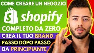 [Shopify Tutorial ITA 2019] Da principiante a ESPERTO di Ecommerce con Shopify ▶️Guida Completa