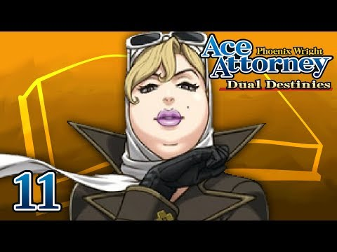 REPEAT OFFENSE - Let's Play - Phoenix Wright: Ace Attorney: Dual Destinies - 11 - Playthrough
