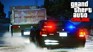 GTA 5 Code Zero Patrol - Duping Dumptruck