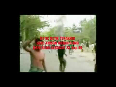 Detik-detik live Ambon(Siaran RRI Dili) menutup siaran untuk selamanya