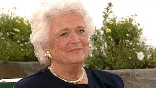 ブッシュ元大統領夫人 92歳で死去