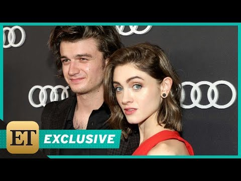 EXCLUSIVE: 'Stranger Things' Stars Joe Keery and Natalia Dyer Step Out Together for Pre-Emmys Eve…