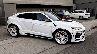 Vik's Widebody Lamborghini Urus Upgraded Again, Sarkis Fan Talk.