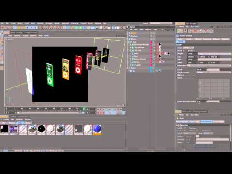 CINEMA 4D to After Effects Advanced: Part 1/4 (~30mins)