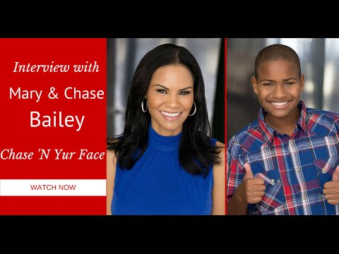 Interview with Mary and Chase Bailey- Chase N' Yur Face #BeatingAustism
