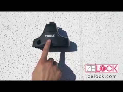 How To Install a Thule Compatible Lock Core from ZeLock
