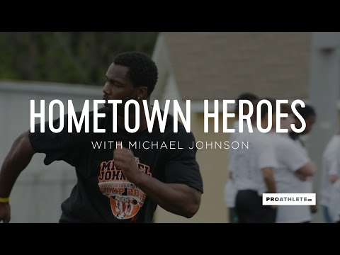 Michael Johnson Works to Revive His Struggling Historic Town | HOMETOWN HEROES — Selma, AL
