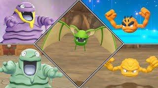 Pokémon Let's Go Pikachu Shiny Hunting Highlights #04 (Alolan Grimer, Alolan Geodude, Zubat)