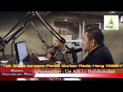 Talk Show Radio Hang 106 Batam bersama Panitia Qurban 1435H