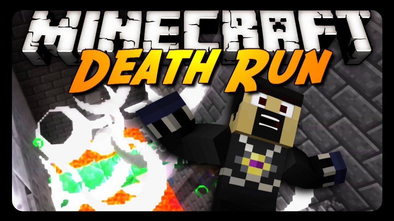 Minecraft: DEATH RUN (Server Mini Game) YouTube
