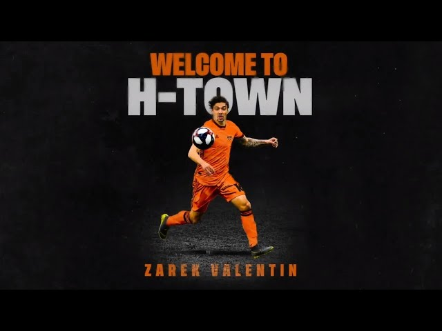 Welcome to H-Town Zarek Valentin | Career Highlights
