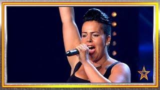 Su poderosa voz y su fuerza pone en pie al jurado | Audiciones 5 | Got Talent España 2019