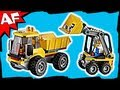 Lego City MINING LOADER & TIPPER 4201 Animated Building Review