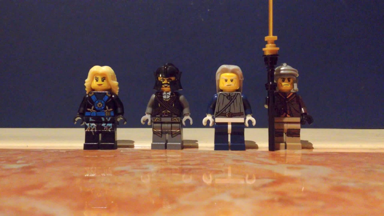 LEGO NINJAGO CUSTOM ELEMENTAL MASTERS OF LIGHTNING, EARTH ...