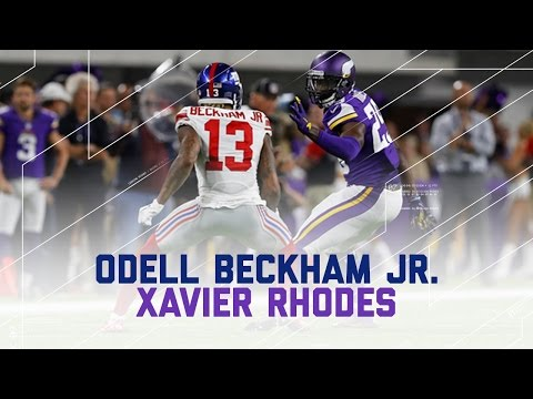 Odell Beckham Jr. Held to Worst Career Game by Xavier Rhodes | NFL Wk 4 Player Highlights