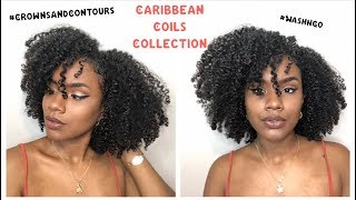 Bomb Wash N Go | Crowns and Contours Caribbean Coils Collection