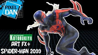 Kotobukiya Spider-Man 2099 ArtFX+ Marvel 1/10 Scale PVC Statue Video Review