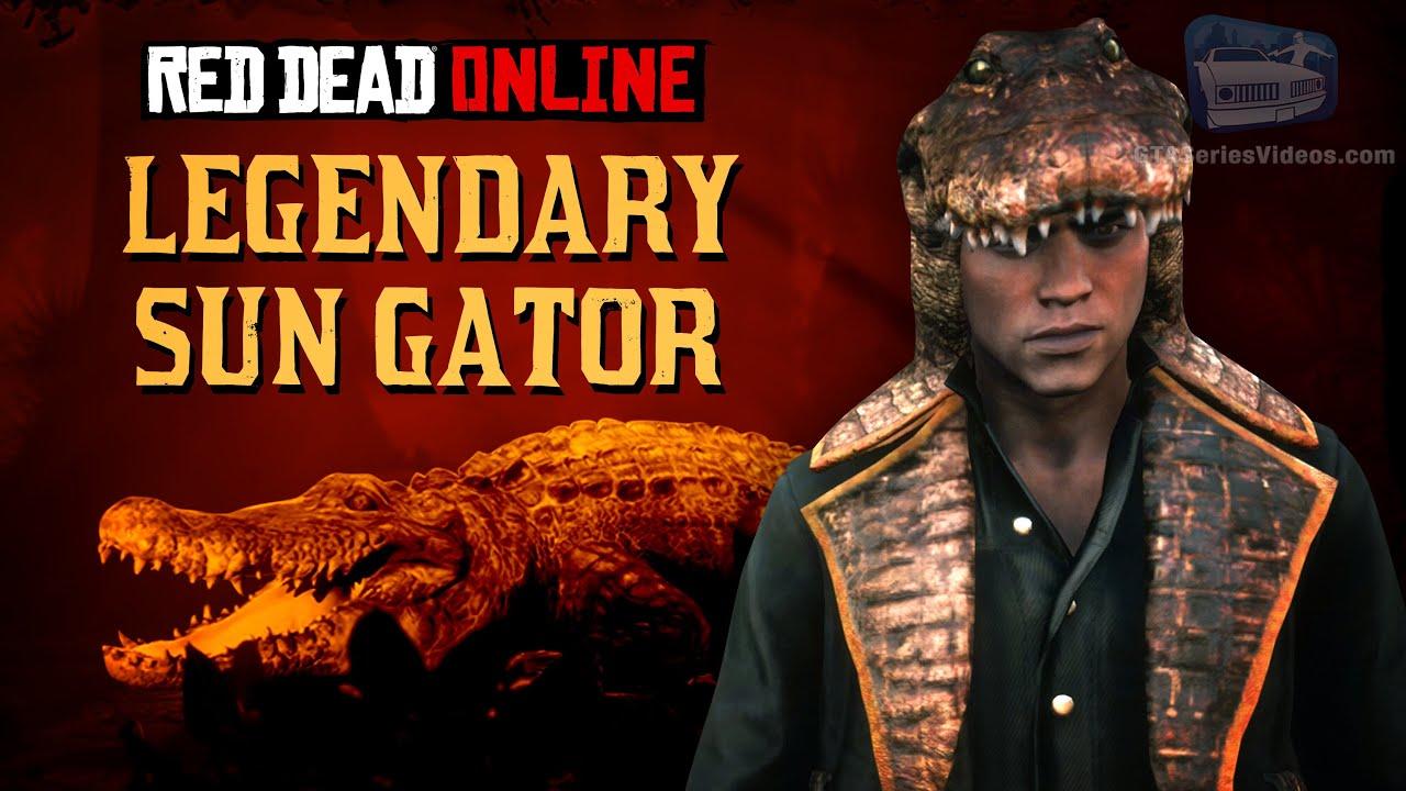 Red Dead Online - Legendary Sun Gator Location [Animal Field Guide]