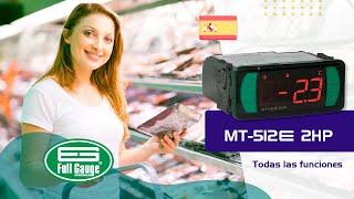 MT-512E 2HP - Full Gauge Controls - Español