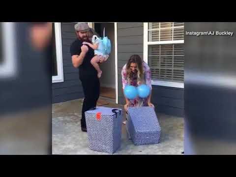 AJ Buckley reveals gender of next baby in happy celebration