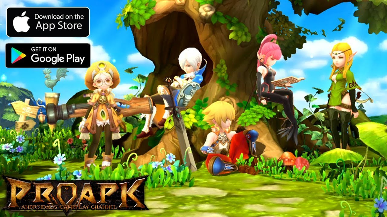 Divine Paradise Gameplay Android / iOS (Dragon Nest Mobile English)