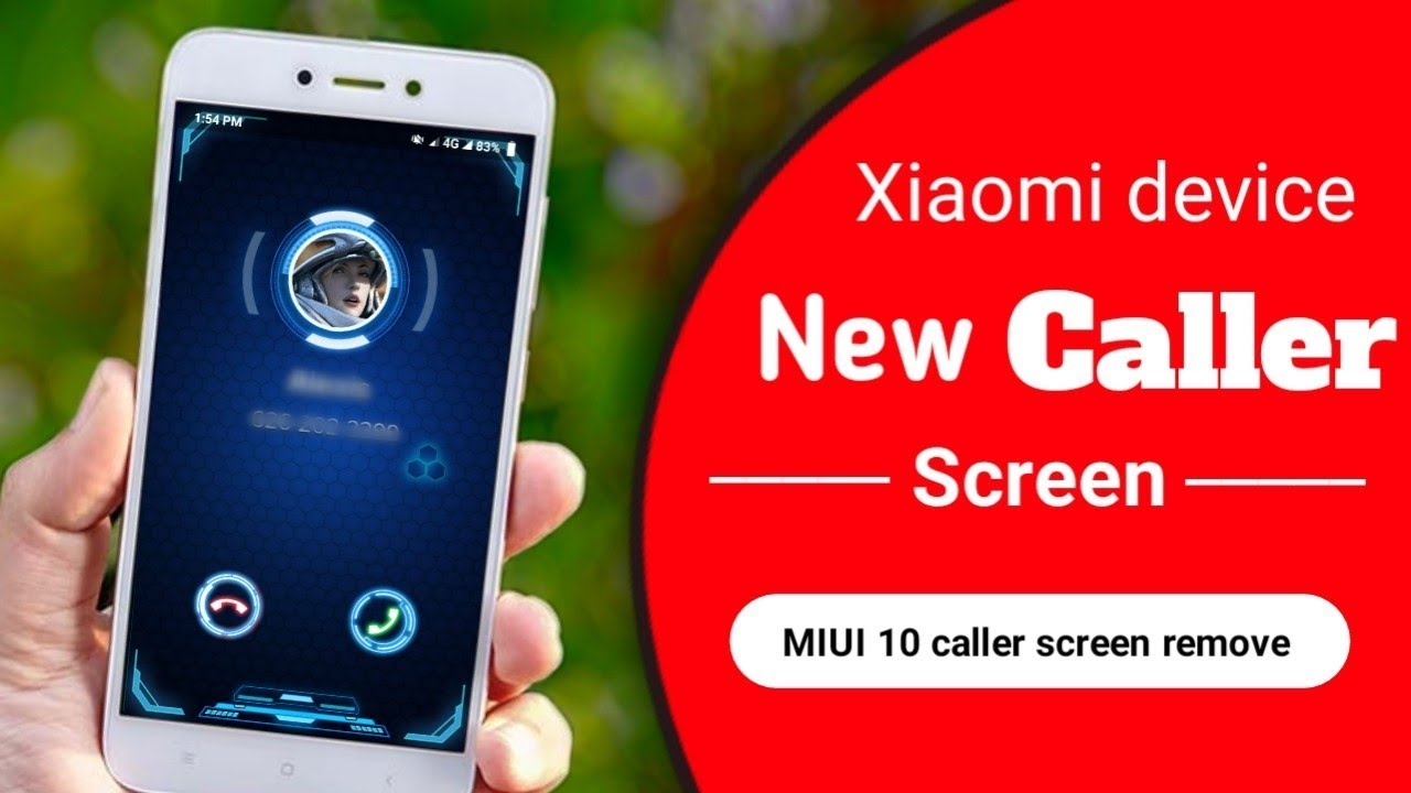 MIUI 10 Caller Screen Completely Change On Redmi 5a | Enable New MIUI10  Caller Screen (FULL CHANGE)