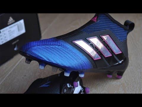 buy popular 3bb1a 21b8e Adidas Ace17+ Purecontrol Blue Blast Unboxing