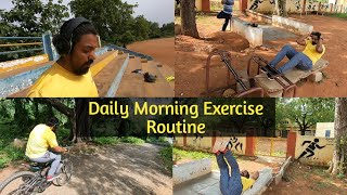 Daily Morning Exercise Routine   Day 31 Vlog   Diet Chart !!!