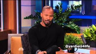 Jamie Foxx on Jay Leno